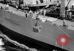 Image of ships of Seventh Fleet China Sea, 1955, second 12 stock footage video 65675052563