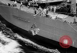 Image of ships of Seventh Fleet China Sea, 1955, second 13 stock footage video 65675052563