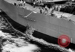 Image of ships of Seventh Fleet China Sea, 1955, second 14 stock footage video 65675052563