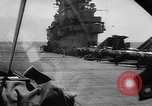 Image of ships of Seventh Fleet China Sea, 1955, second 18 stock footage video 65675052563