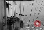 Image of ships of Seventh Fleet China Sea, 1955, second 49 stock footage video 65675052563