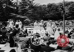 Image of model parade France, 1955, second 4 stock footage video 65675052567