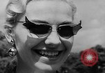 Image of model parade France, 1955, second 13 stock footage video 65675052567