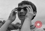 Image of model parade France, 1955, second 22 stock footage video 65675052567