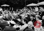 Image of model parade France, 1955, second 32 stock footage video 65675052567