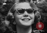 Image of model parade France, 1955, second 43 stock footage video 65675052567