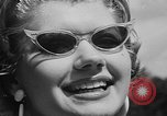 Image of model parade France, 1955, second 44 stock footage video 65675052567