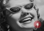 Image of model parade France, 1955, second 46 stock footage video 65675052567