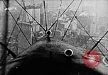 Image of U.S. Navy Class C airships over Statue of Liberty New York United States USA, 1918, second 2 stock footage video 65675052579