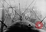 Image of U.S. Navy Class C airships over Statue of Liberty New York United States USA, 1918, second 3 stock footage video 65675052579