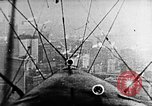 Image of U.S. Navy Class C airships over Statue of Liberty New York United States USA, 1918, second 4 stock footage video 65675052579