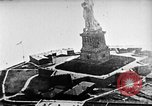 Image of U.S. Navy Class C airships over Statue of Liberty New York United States USA, 1918, second 13 stock footage video 65675052579