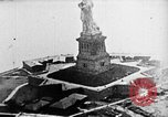Image of U.S. Navy Class C airships over Statue of Liberty New York United States USA, 1918, second 15 stock footage video 65675052579