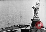 Image of U.S. Navy Class C airships over Statue of Liberty New York United States USA, 1918, second 20 stock footage video 65675052579