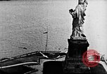 Image of U.S. Navy Class C airships over Statue of Liberty New York United States USA, 1918, second 21 stock footage video 65675052579