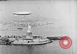 Image of U.S. Navy Class C airships over Statue of Liberty New York United States USA, 1918, second 30 stock footage video 65675052579