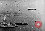 Image of U.S. Navy Class C airships over Statue of Liberty New York United States USA, 1918, second 36 stock footage video 65675052579