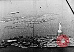 Image of U.S. Navy Class C airships over Statue of Liberty New York United States USA, 1918, second 41 stock footage video 65675052579