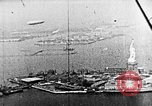 Image of U.S. Navy Class C airships over Statue of Liberty New York United States USA, 1918, second 42 stock footage video 65675052579