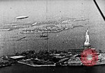 Image of U.S. Navy Class C airships over Statue of Liberty New York United States USA, 1918, second 48 stock footage video 65675052579