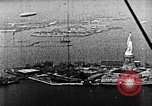 Image of U.S. Navy Class C airships over Statue of Liberty New York United States USA, 1918, second 50 stock footage video 65675052579