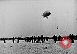 Image of Parachutist jumps from airship New York United States USA, 1918, second 19 stock footage video 65675052580