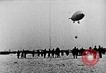 Image of Parachutist jumps from airship New York United States USA, 1918, second 24 stock footage video 65675052580