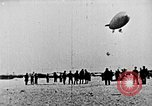 Image of Parachutist jumps from airship New York United States USA, 1918, second 26 stock footage video 65675052580
