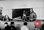 Image of Parachutist jumps from airship New York United States USA, 1918, second 55 stock footage video 65675052580
