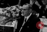 Image of patriotic summary of America including JFK funeral, presidents, and mo United States USA, 1968, second 23 stock footage video 65675052584