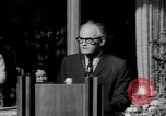Image of patriotic summary of America including JFK funeral, presidents, and mo United States USA, 1968, second 30 stock footage video 65675052584