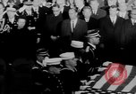 Image of patriotic summary of America including JFK funeral, presidents, and mo United States USA, 1968, second 41 stock footage video 65675052584