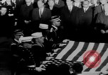 Image of patriotic summary of America including JFK funeral, presidents, and mo United States USA, 1968, second 42 stock footage video 65675052584