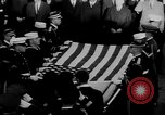 Image of patriotic summary of America including JFK funeral, presidents, and mo United States USA, 1968, second 45 stock footage video 65675052584