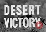 Image of British General Auchinleck El Alamein Egypt, 1942, second 18 stock footage video 65675052591