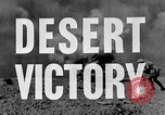 Image of British General Auchinleck El Alamein Egypt, 1942, second 19 stock footage video 65675052591