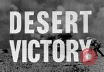 Image of British General Auchinleck El Alamein Egypt, 1942, second 21 stock footage video 65675052591