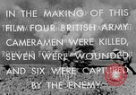 Image of British General Auchinleck El Alamein Egypt, 1942, second 30 stock footage video 65675052591