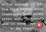 Image of British General Auchinleck El Alamein Egypt, 1942, second 36 stock footage video 65675052591