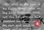 Image of British General Auchinleck El Alamein Egypt, 1942, second 60 stock footage video 65675052591