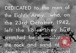 Image of British General Auchinleck El Alamein Egypt, 1942, second 61 stock footage video 65675052591