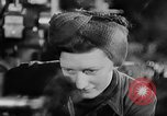 Image of women workers United Kingdom, 1944, second 13 stock footage video 65675052592