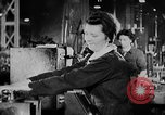 Image of women workers United Kingdom, 1944, second 15 stock footage video 65675052592