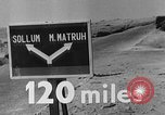 Image of British troops El Alamein Egypt, 1942, second 34 stock footage video 65675052603