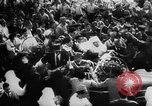 Image of Sultan Mohammed ben Youssef Rabat Morocco, 1955, second 25 stock footage video 65675052620