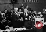 Image of President George Meany New York United States USA, 1955, second 15 stock footage video 65675052621