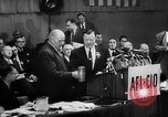 Image of President George Meany New York United States USA, 1955, second 16 stock footage video 65675052621