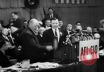 Image of President George Meany New York United States USA, 1955, second 17 stock footage video 65675052621