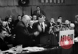 Image of President George Meany New York United States USA, 1955, second 19 stock footage video 65675052621