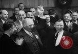 Image of President George Meany New York United States USA, 1955, second 24 stock footage video 65675052621
